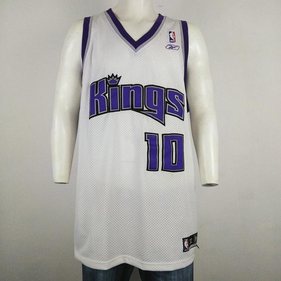 finest selection 8b8ea f8783 Reebok NBA #10 Mike Bibby Sacramento Kings jersey